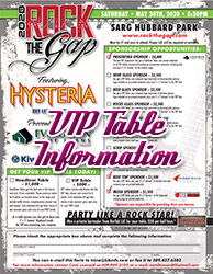 VIP Table Information